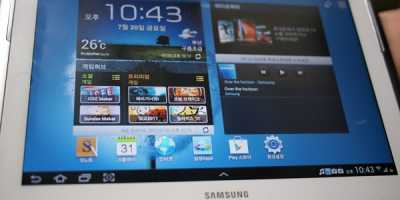 Samsung va lansa tableta Galaxy Note 10.1
