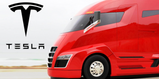 VIDEO Camionul electric Tesla Semi a fost zărit pe străzile din California