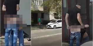 VIDEO Sex oral în văzul trecătorilor. Doi tineri din Iaşi au fost filmaţi în toiul zilei, pe stradă, în timpul unei felaţii