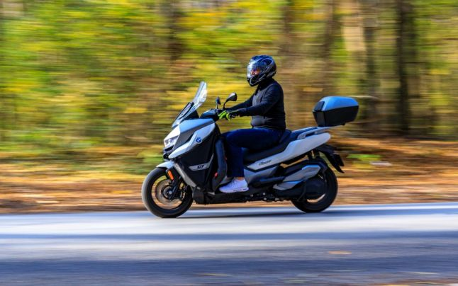 Test Ride BMW C400GT