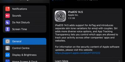 Apple a lansat iOS 14.5